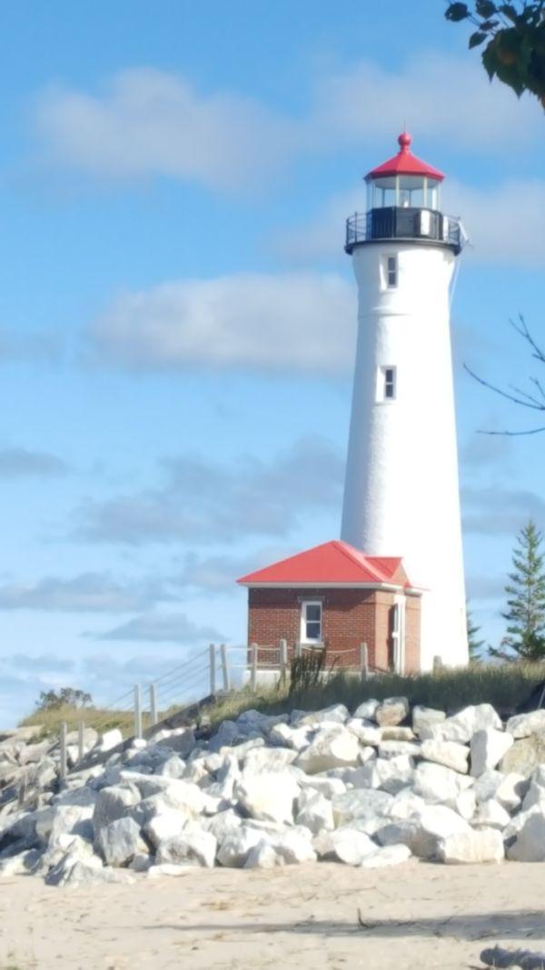 Crisp Point Lighthouse, Michigan thumbnail