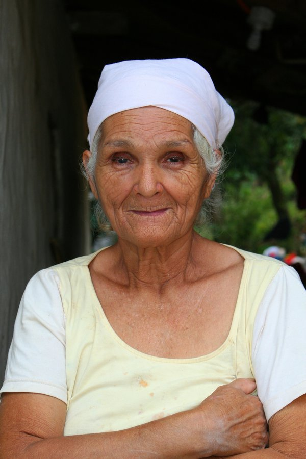 Older woman in the village I was working in as a missionary. thumbnail