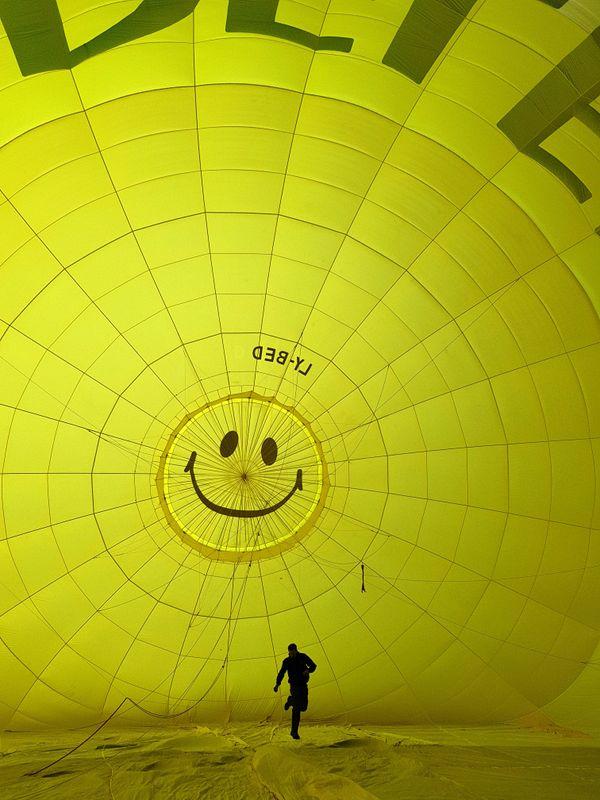 Inside hot air balloon thumbnail