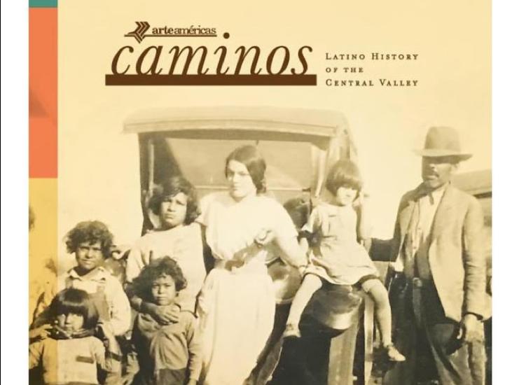 Promotional image of the Caminos exhibit on display at Arte Américas. (Courtesy of Arte Américas)