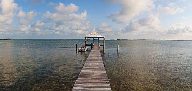 Barbara Ehrenreich Sugarloaf Key Florida dock