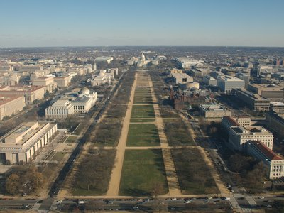 The National Mall as seen in 2010