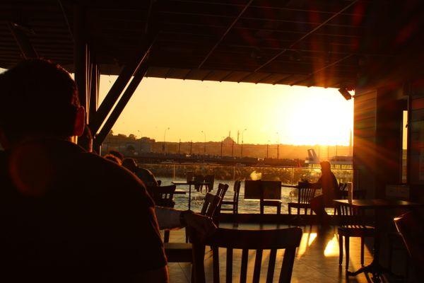 Sunset in Istanbul thumbnail