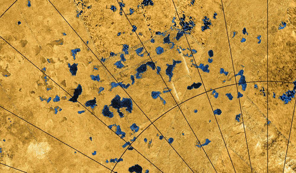Titan's lakes
