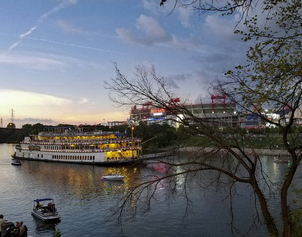 General Jackson Cruise Boat During Total Eclipse thumbnail