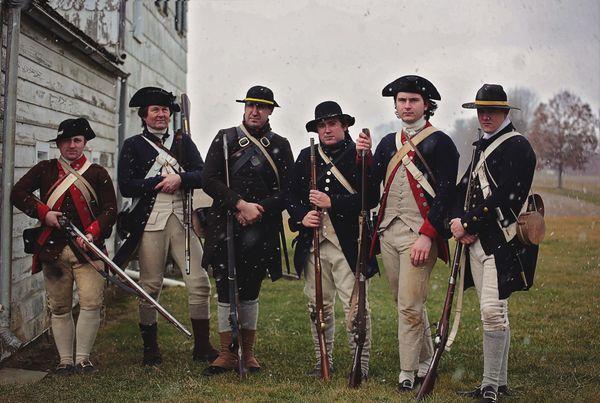 Revolutionary War Reenactors thumbnail