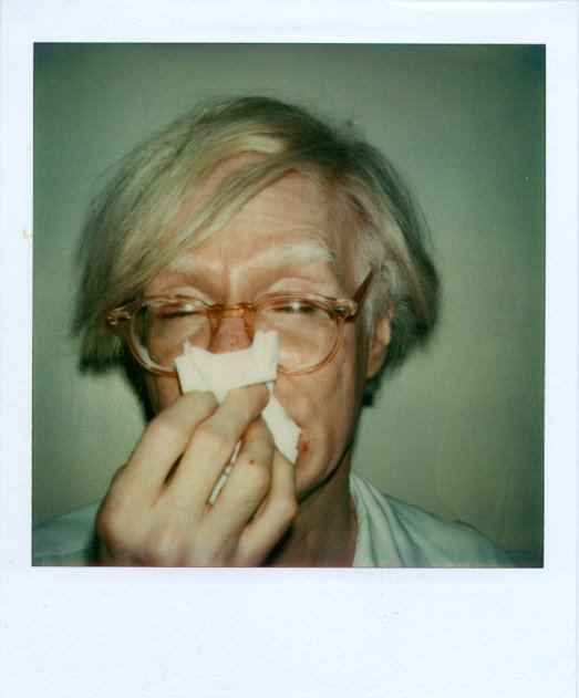 Andy Sneezing