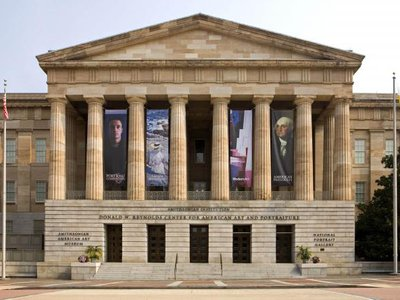 South Entrance, Smithsonian American Art Museum and National Portrait Gallery