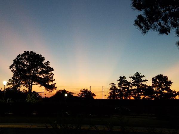 Beautiful southern sunrise before work  thumbnail