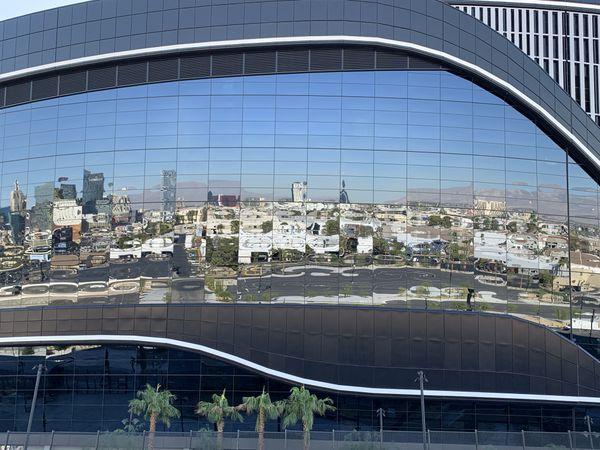 Reflections of an empty stadium 2020 thumbnail