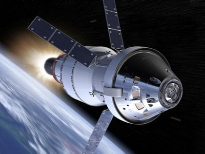 The Orion spacecraft could one day take astronauts to Mars.