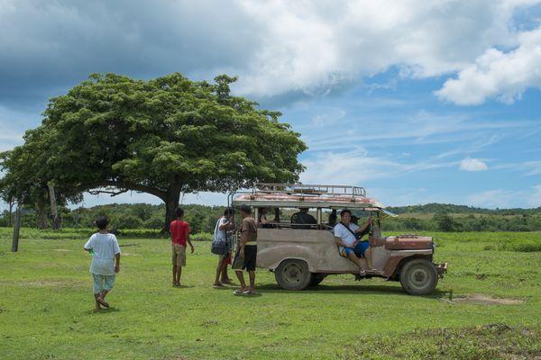 Post World War II Jeepney in Calauit Safari Park, Palawan, Philippines thumbnail