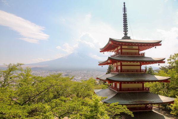Mount Fuji # 2 thumbnail