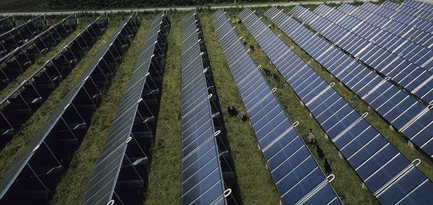 Photovoltaic panels in Denmark