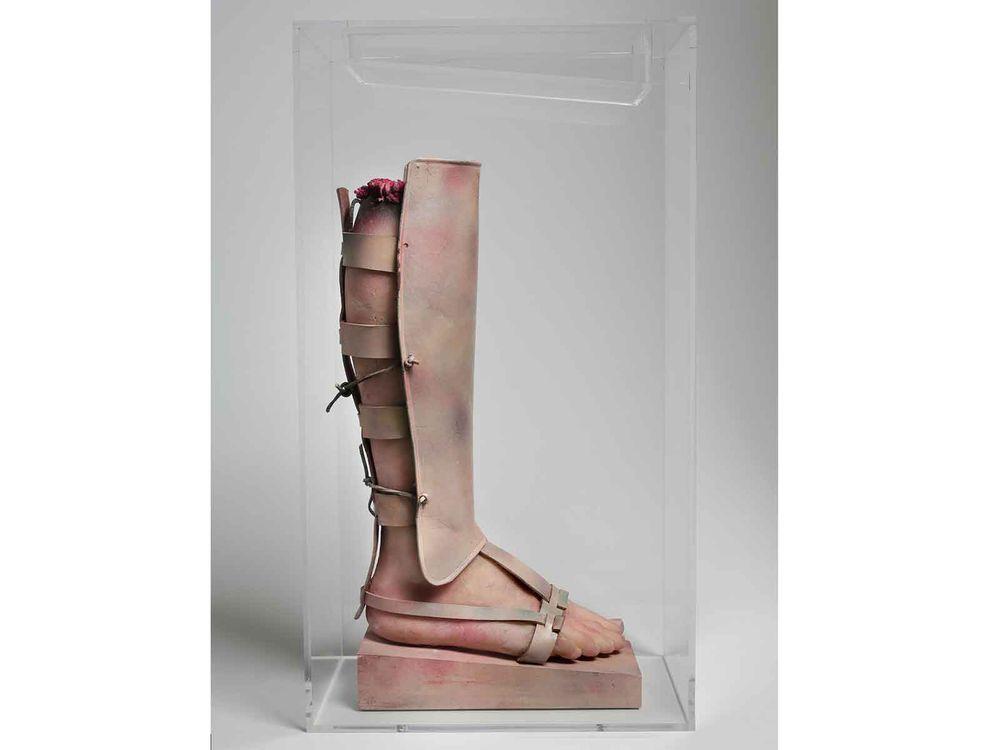 Warrior's Leg, Paul Thek, 1966-1967
