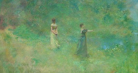 Painter Thomas Dewing