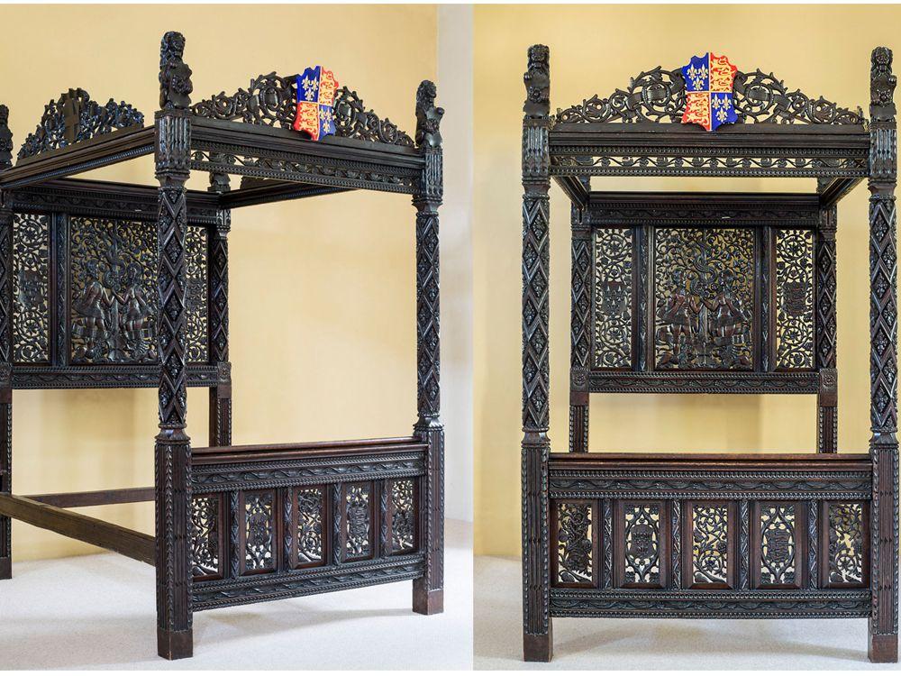 Henry VII bed