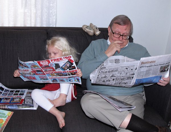 Granddaughter Age 3 With Grandpa thumbnail