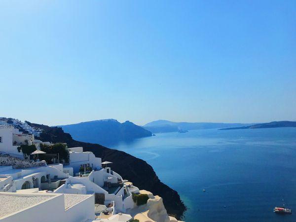 View of Santorini  thumbnail