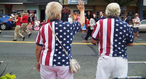 Waving on Small Town America Parade thumbnail