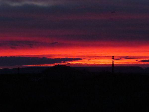 Fiery Southwest Sunset thumbnail