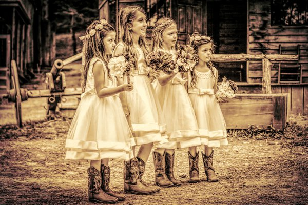 Flower Girls from May Wedding thumbnail