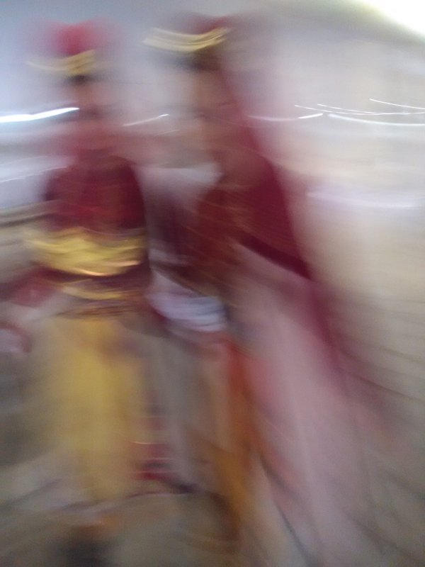 Two girls in traditional costumes thumbnail
