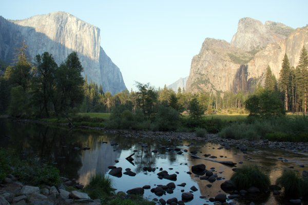 Yosemite Valley At Merced River thumbnail