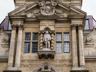 Rhodes left Oxford's Oriel College around $17 million in today's money.