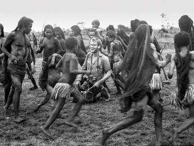 """The Baliem Valley was a """"magnificent vastness"""" in Rockefeller's eyes, and its people were """"emotionallly expressive."""" But Asmat proved to be """"more remote country than what I have ever seen."""""""