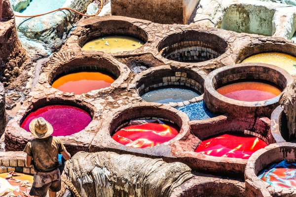 Leather Tanneries of Fez thumbnail