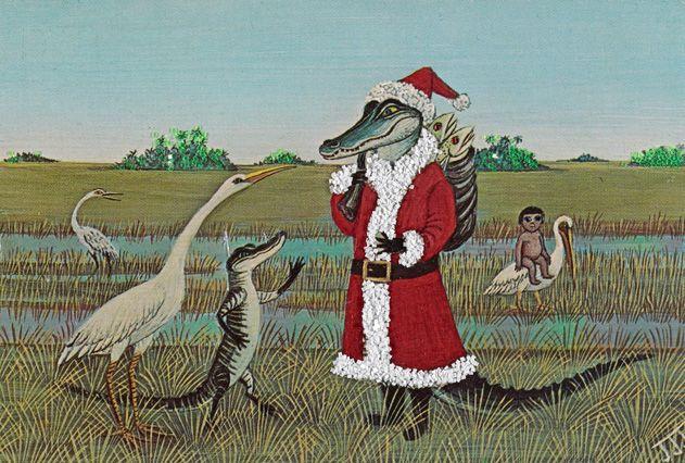 Cold-blooded Santa