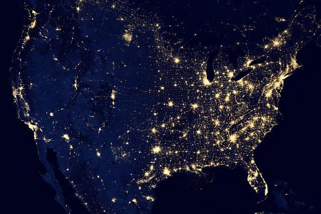 Black Marble, Interrupted: Our Mark on the Night Sky, From Space