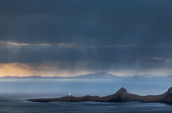 Neist point during a squall thumbnail
