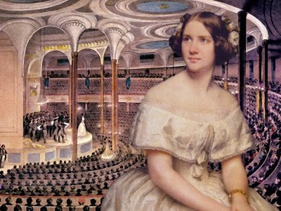"""Singer Jenny Lind was widely known as the """"Swedish Nightingale."""""""