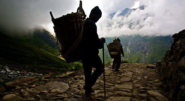 The Mountain Porters of Hemkund Sahib. thumbnail