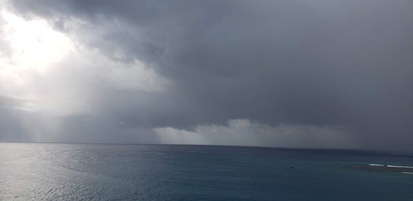 Rainstorm in the Caribbean thumbnail