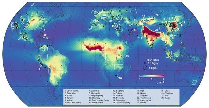 Ammonia Map