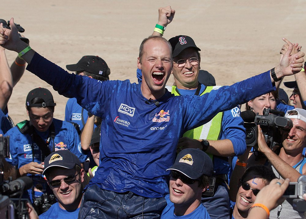 Sebastian Thrun, DARPA Challenge