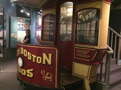 National Streetcar Museum at Lowell