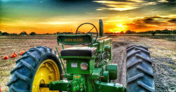 John Deere Sunset thumbnail