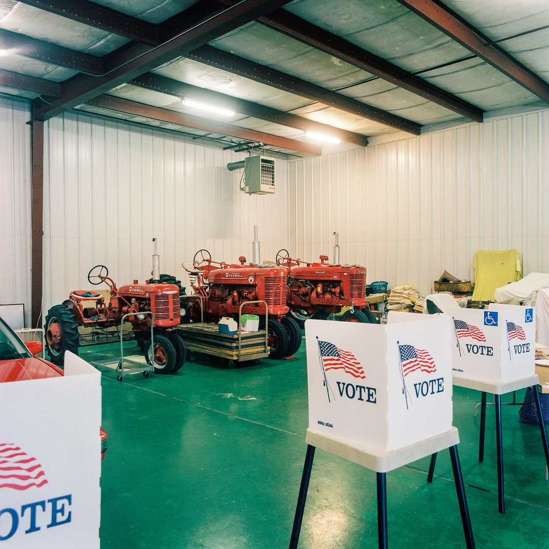 Eight of America's Most Unusual Polling Places