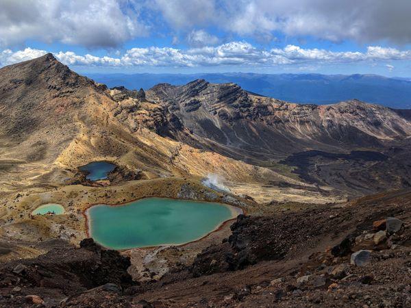 The Tongariro Alpine Crossing. thumbnail