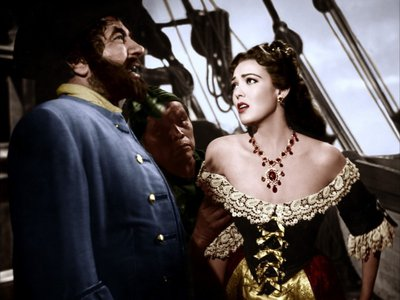 Yarr! Actor Robert Newton, whose portrayal of Long John Silver became famous, also played Blackbeard in a 1952 film.