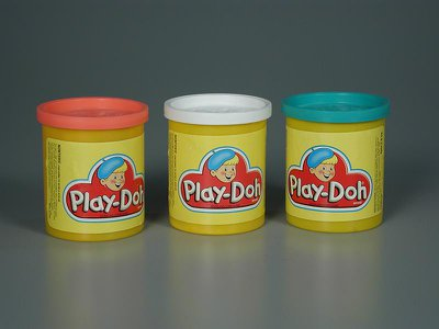 Play-Doh has sold more than 3 billion cans since its debut as a child's toy in 1956.