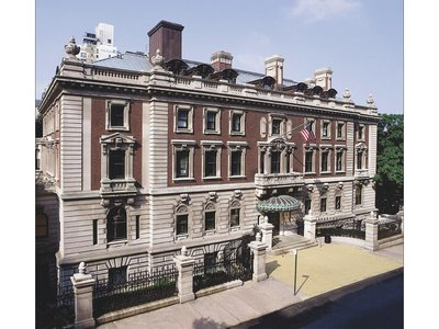 Founded in 1896, the Cooper Hewitt is located in the Andrew Carnegie mansion, a 64-room Georgian brick home that once served as home for the steel magnate and his family.