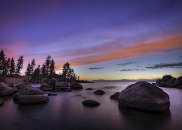 Sand Harbor Sunset thumbnail