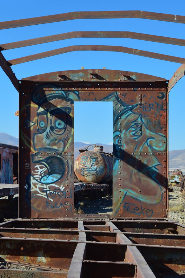 Cemetario de Trenes (Train Cemetery) of Bolivia: Faces thumbnail