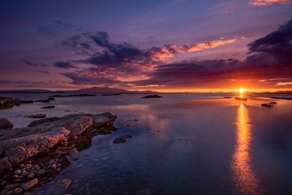Coastal sunset thumbnail