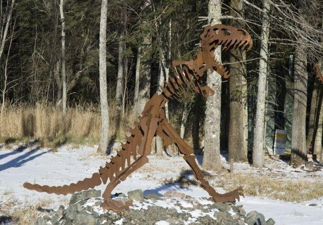 A Superior Dinosaur, Duluth, Minnesota